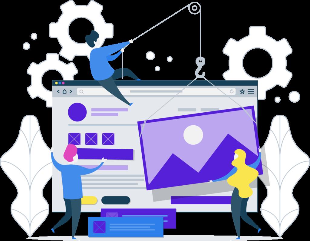 diseño de páginas web - desarrollo de aplicaciones