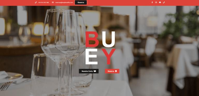 pagina web de restaurantes